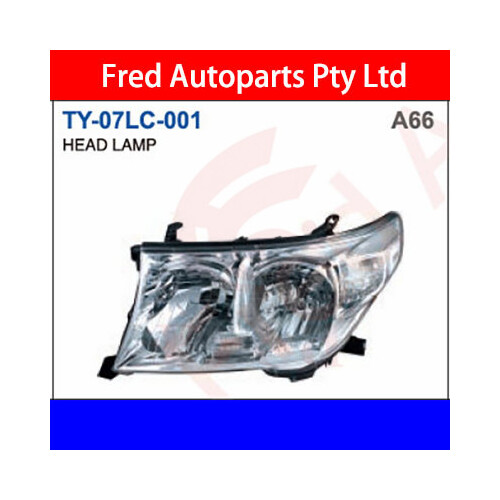Head Lamp Left , Fits For Land Cruiser 2007.FZJ200.UZJ, TY-07LC-001-LH, 81170-60C81