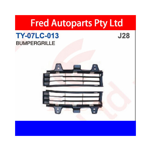 Front Bumper Grille Left, Fits For Land Cruiser 2007.FZJ200.UZJ, TY-07LC-013-LH, 53113-60040