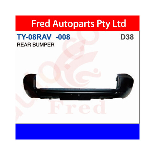 Rear Bumper With Hole, Fits For Rav4 2006.ACA33, TY-08RAV-008-D, 52159-0R906
