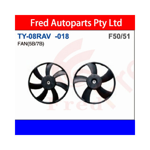 Fan(5B), Fits For Rav4 2006.ACA33, TY-08RAV-018-5, 16361-0H290