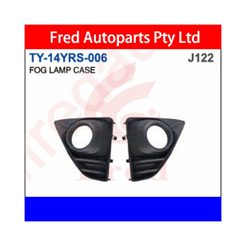 Fog Lamp Cover Left, Fits For Yaris 2014.Hatchback.NCP, TY-14YRS-006-LH, 52128-0D140